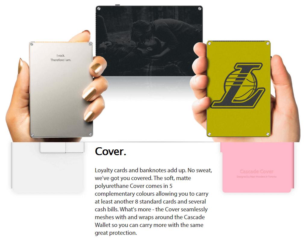 CASCADE LEATHER WALLET - Kickstarter