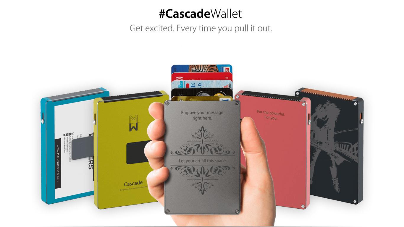Cascade|極薄ウォレット「カスケード」 - ガ …