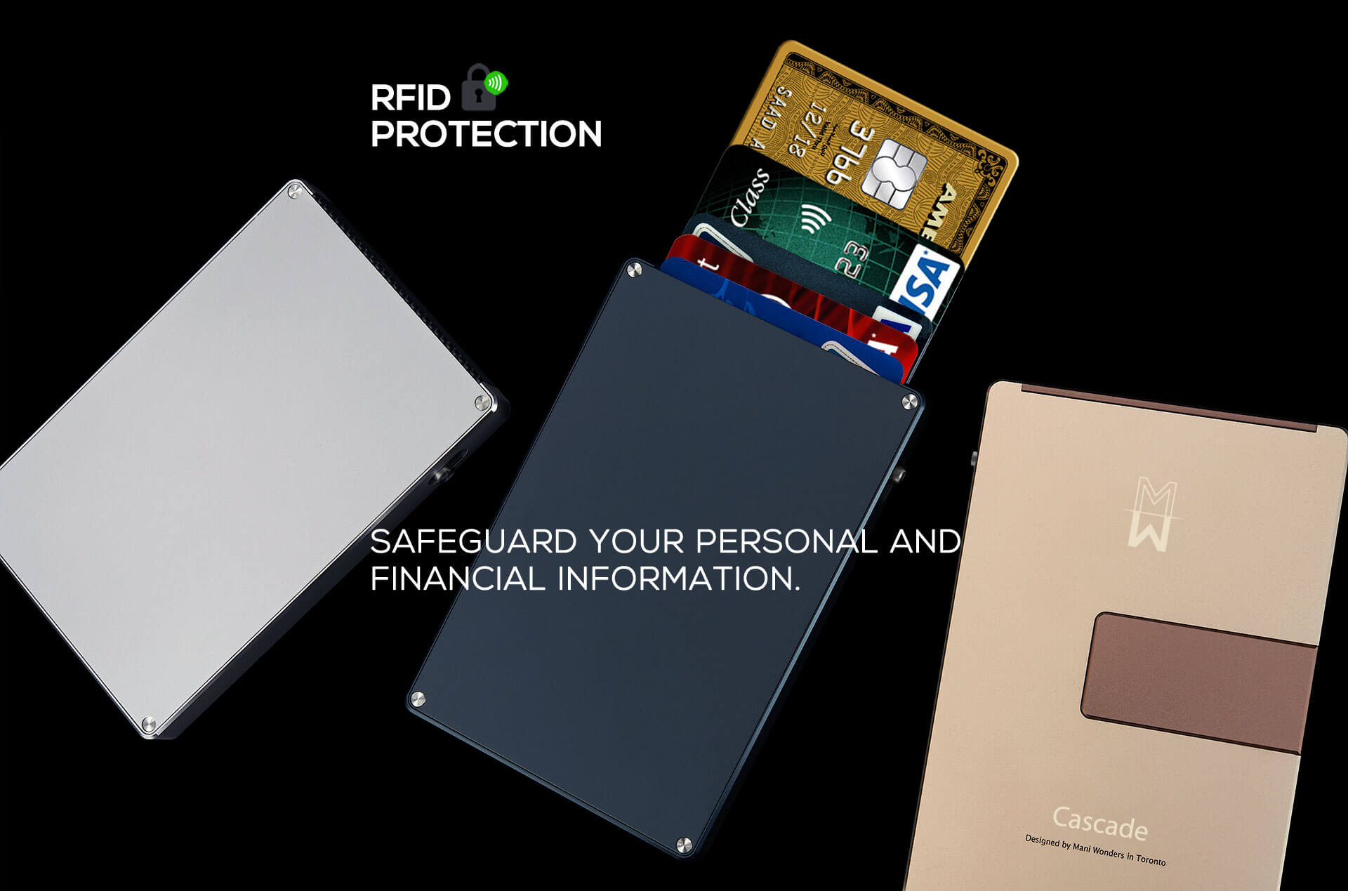 Safeguard your personal and financial information.