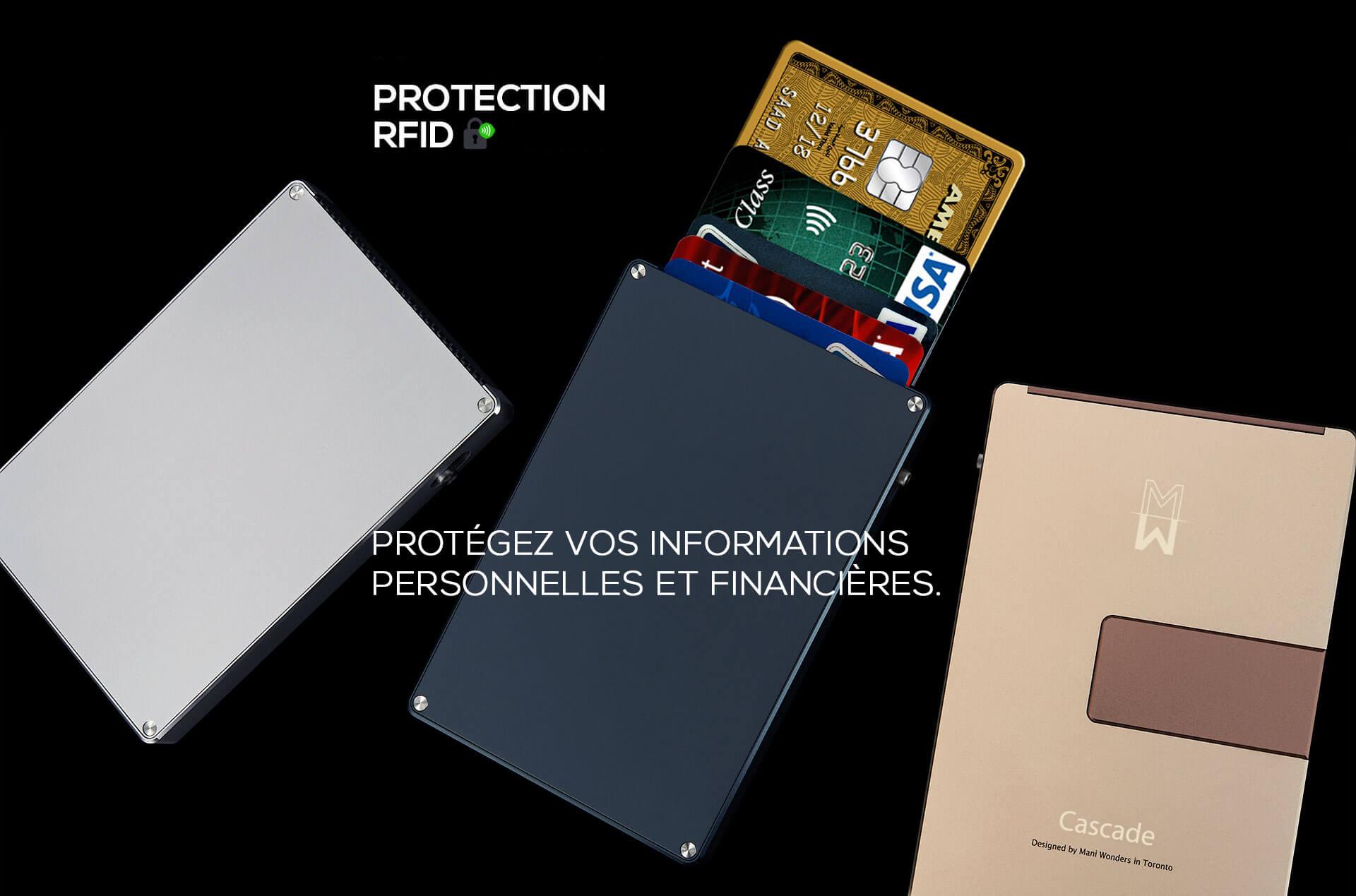 Protégez vos informations personnelles et financières.